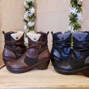 Jambu Sandlewood Ankle Boots Black or Brown